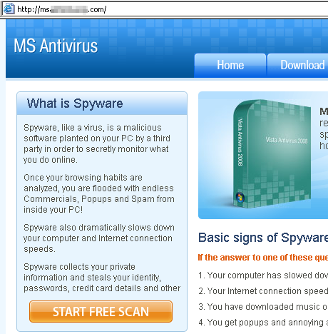 MS Antivirus